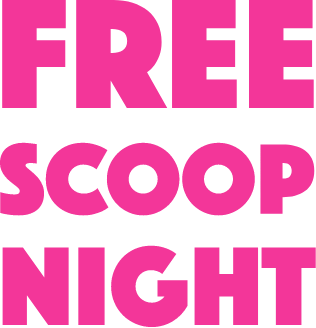 Baskin Robbins BR free scoop night campaign