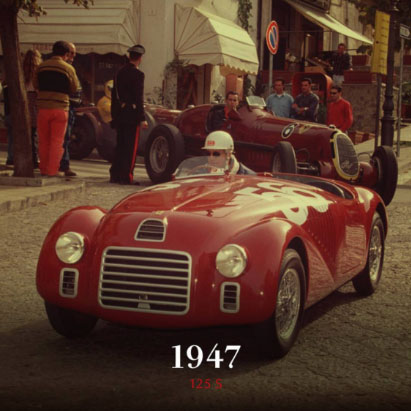 1947 Ferrari 125 S 70th Anniversary event